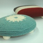 Tuffets with Knitted Covers